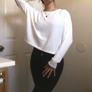 Forever21 Cropped Long sleeve